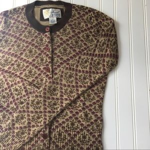Fossil cardigan sweater SIZE SMALL